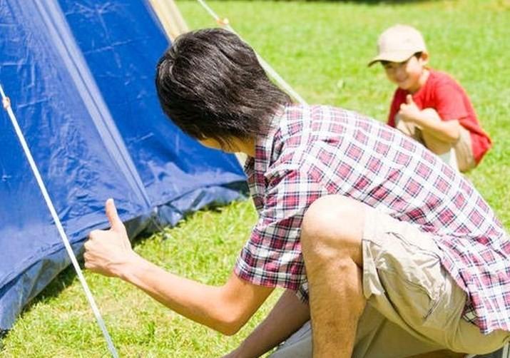 Tips aman berkemah untuk Anak